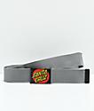 Santa Cruz Classic Dot Charcoal Web Belt