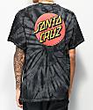 Santa Cruz Classic Dot Spider camiseta negra