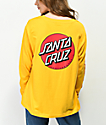 Santa Cruz Convert Gold Long Sleeve T-Shirt