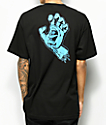 Santa Cruz Hand Black T-Shirt