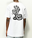 Santa Cruz Hissing Hand White T-Shirt