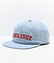 Santa Cruz Laguna gorra azul claro