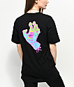 Santa Cruz Neon Screaming Hand Black T-Shirt