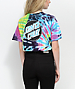 Santa Cruz Other Dot Flashback camiseta con efecto tie dye