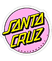 "Santa Cruz Other Dot Light Pink 3"" Sticker"