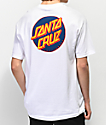 Santa Cruz Other Dot White T-Shirt