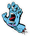 "Santa Cruz Screaming Hand 3"" Sticker"
