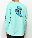 Santa Cruz Screaming Hand Mint Long Sleeve T-Shirt
