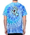 Santa Cruz Screaming Hand camiseta azul