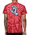 Santa Cruz Screaming Hand camiseta teñida anudado