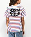 Santa Cruz Surge Cali camiseta de rayas