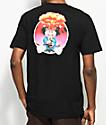 Santa Cruz X Garbage Pail Kids Adam Bomb camiseta negra