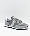 Saucony Jazz Low Pro Grey & Silver Shoes