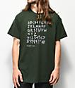 Scum Font Forest camiseta verde