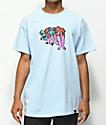 Scum Legs camiseta azul claro