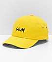 Scum Logo gorra amarilla