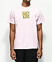 Scum Love Leopard camiseta rosa