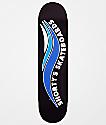 "Shorty's Skate Wave 7.75"" tabla de skate negra y azul"