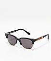Shwood Newport gafas de sol en negro y caoba