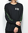 Skate Mental Dads Money Black Long Sleeve T-Shirt