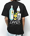 Skate Mental Soaker Black T-Shirt