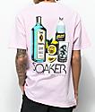 Skate Mental Soaker Pink T-Shirt