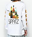 Skate Mental Spritz White Long Sleeve T-Shirt