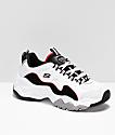 Skechers D'Lites 3.0  zapatos en blanco, rojo y negro