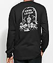 Sketchy Tank Adios camiseta negra de manga larga