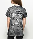 Sketchy Tank Good Fortune Black Crystal Wash T-Shirt