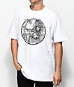 Sketchy Tank Hula camiseta blanca