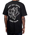 Sketchy Tank Karma camiseta negra