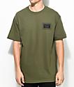 Sketchy Tank Kill Army Green T-Shirt
