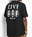 Sketchy Tank LIV3 camiseta negra