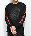 Sketchy Tank Oni camiseta negra de manga larga