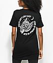Sketchy Tank Opinions Black & White T-Shirt