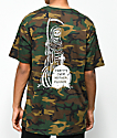 Sketchy Tank Party's Over Woodland camiseta camuflada