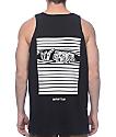 Sketchy Tank Peeking camiseta negra sin mangas