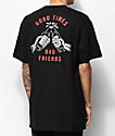 Sketchy Tank Redrum Good Times camiseta negra