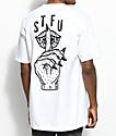 Sketchy Tank STFU camiseta blanca