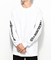 Sketchy Tank Savage White Long Sleeve T-Shirt