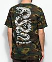 Sketchy Tank Snakes Camo T-Shirt
