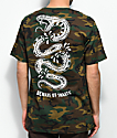 Sketchy Tank Snakes camiseta camuflada