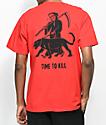 Sketchy Tank Time camiseta roja