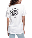 Sketchy Tank Wish You Were Here camiseta blanca