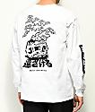 Sketchy Tank x Mr. Tucks Lurking Class camiseta blanca de manga larga