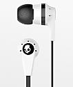 Skullcandy Ink'd 2.0 Mic'd White Earbuds