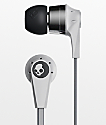 Skullcandy Ink'd 2.0 Mic'd audífonos de cromo gris