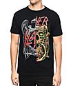Slayer Split Black T-Shirt