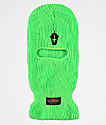 Slushcult Neon Cross Cup Green Ski Mask